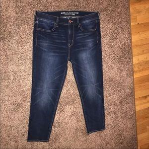 American Eagle 360 Super Stretch Jeans sz 12